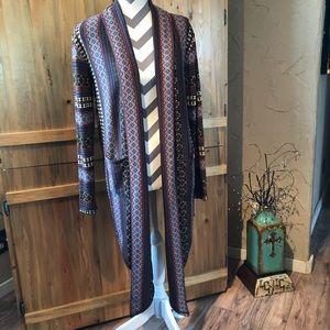❤️ NWOT DOUBLE D RANCH Wrap Sweater Cardigan